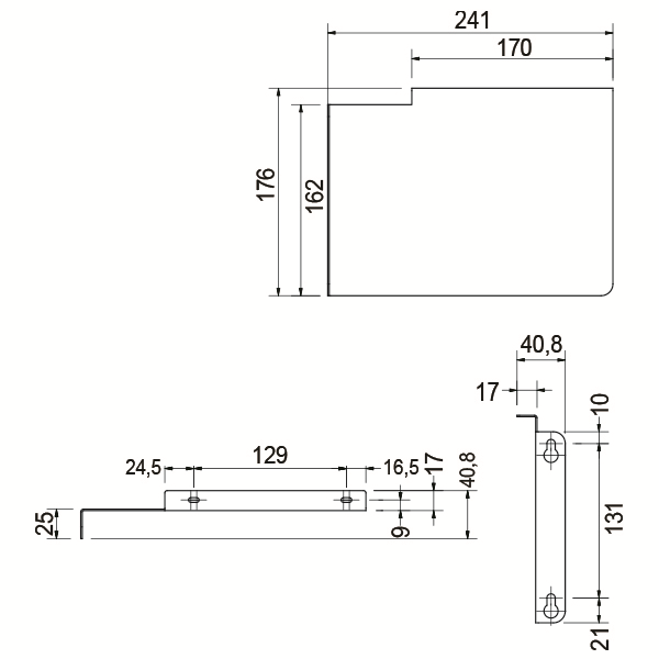 Picture of BRACKETS (PAIR) SIRX