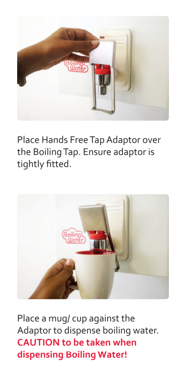 Picture of ZIP HANDS FREE BOILING TAP ADAPTER